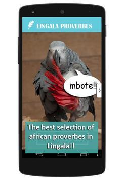 Lingala Proverbs poster