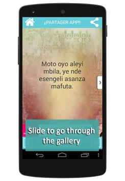 Lingala Proverbs apk screenshot