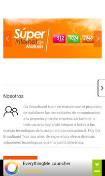 CIX Broadband apk screenshot