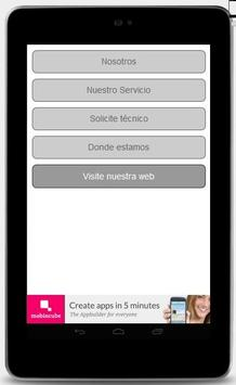 Servicio técnico de Lavarropas apk screenshot
