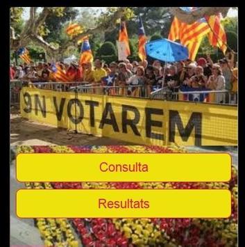 Referèndum Catalunya 9-N poster