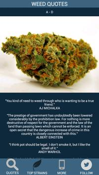 Weed Quotes apk screenshot
