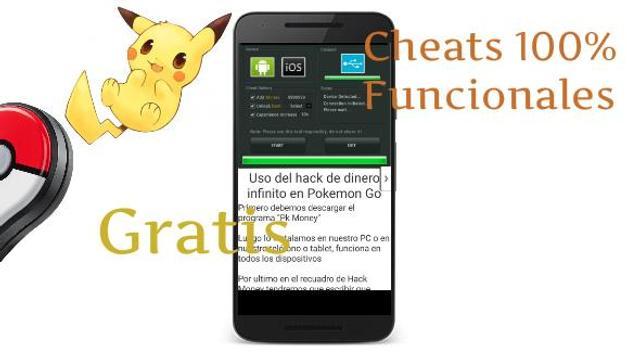 Cheats Poke Go apk screenshot