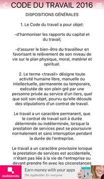 Code du Travail de Haiti 2016 apk screenshot