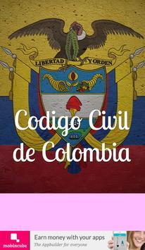 Código Civil Colombia poster