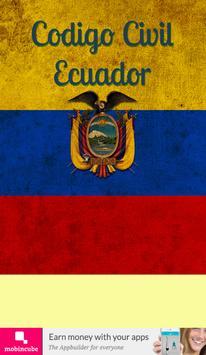 Código Civil Ecuador poster