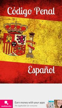 Código Penal de España poster