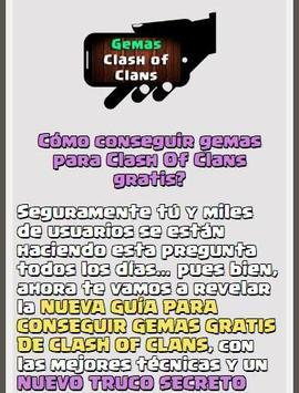 Gemas Para Clash Of Clans apk screenshot