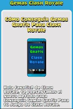 Gemas Para Clash Royale poster