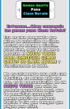 Gemas Para Clash Royale apk screenshot