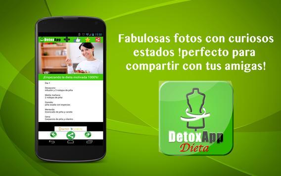 DetoxApp Dieta Detox Piña apk screenshot