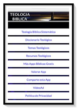 Teología Bíblica Sistemática apk screenshot