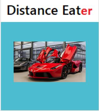 Distance Eater poster