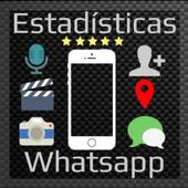 Estadísticas de Whatsapp icon