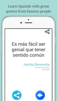 Famous Quotes in Spanish apk screenshot