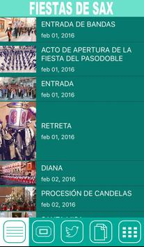Fiestas de Sax 2016 apk screenshot