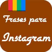 Frases para Instagram icon