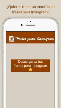 Frases para Instagram poster
