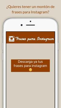 Frases para Instagram apk screenshot