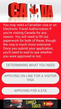 How To Get your VISA to CANADA poster