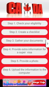 How To Get your VISA to CANADA apk screenshot