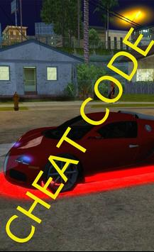 Cheats for GTA San Andrea 2k16 poster
