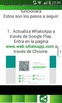 Install Guide Web Watsap poster