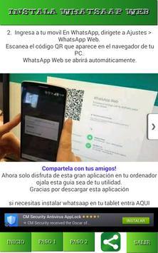 Install Guide Web Watsap apk screenshot