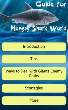 Guide for Hungry Shark World poster