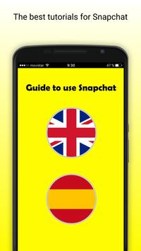 Guide to Use Snapchat poster