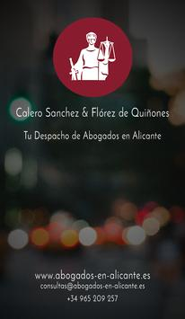 Calero & Florez poster