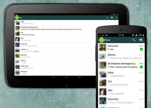How to install Whatsapp-tablet poster