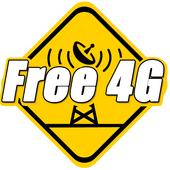 Internet Gratis 4G Tutorial icon