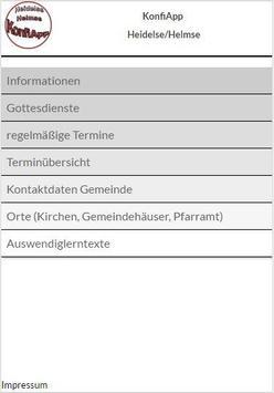 KonfiApp Hei/Hel apk screenshot