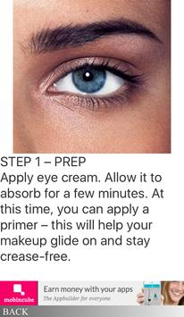 Perfect Smoky Eye Guide poster