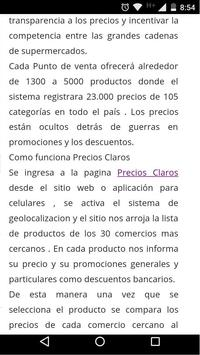 PRECIOS CLAROS   SEPA poster