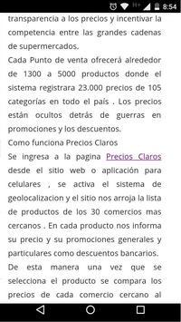PRECIOS CLAROS   SEPA apk screenshot