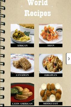World Recipes poster