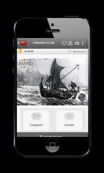 Unwind Club mLoyal App apk screenshot