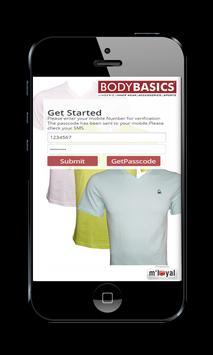 Body Basics mLoyal App poster