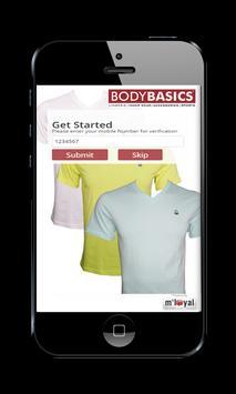 Body Basics mLoyal App apk screenshot