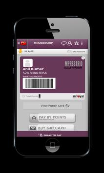 Impresario mLoyal App poster