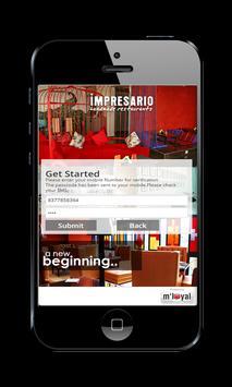 Impresario mLoyal App apk screenshot