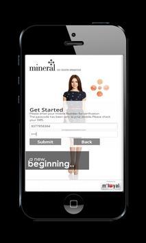 Mineral mLoyal App apk screenshot