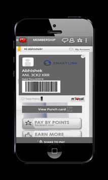 Smartlink mLoyal App poster