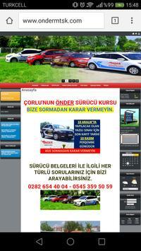 Çorlu Önder Sürücü Kursu poster