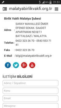 Malatya Birlik Vakfı apk screenshot