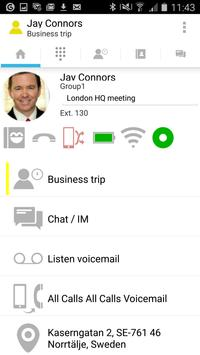 nextG Mobile UCC Client poster