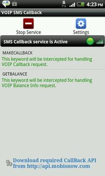 VoIP SMS CallBack poster