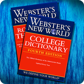 Webster's Dictionary+Thesaurus icon